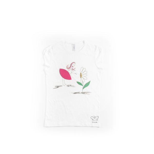 maglietta minime mamma e figlia in cotone