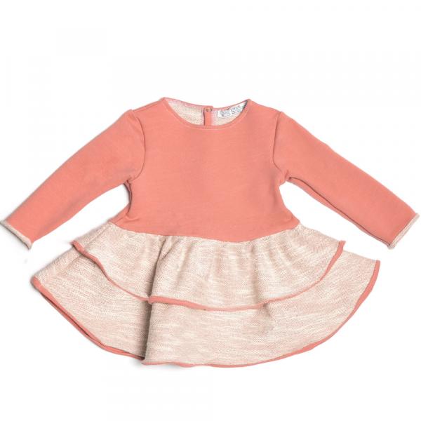 abito da bambina in cotone caldo