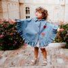 mantellina Love in Jeans da bambina