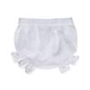 culotte abito cerimonia in pizzo bianco