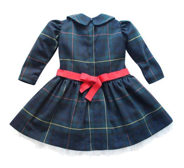 abito scozzese da bambina Irene