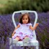 abito da cerimonia bambina lilla