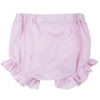 culotte lilla in cotone da bambina