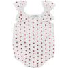 pagliaccetto body Ioris a cuori da bambina in cotone
