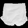 culotte bianca abito da cerimonia bambina in cotone