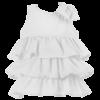 abito da cerimonia bambina bianco elegante Beatrice