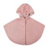 mantella pelliccia ecologica cipria da bambina