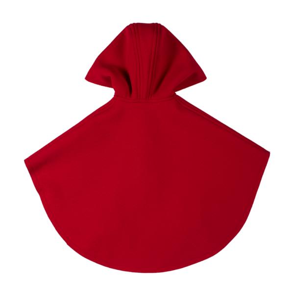 retro mantellina cappuccetto rosso da bambina