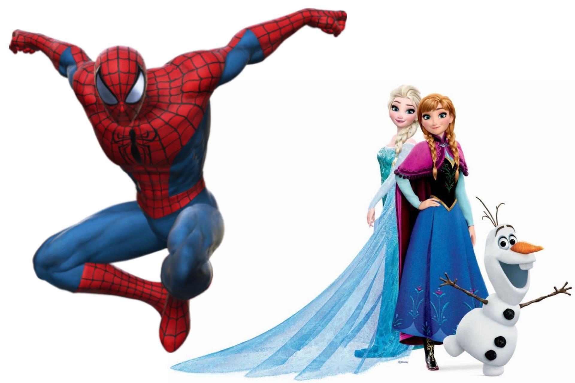 abbigliamento per bambini supereroi e bambine principesse