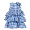 abito cerimonia bambina in cotone Beatrice tessuto vichy
