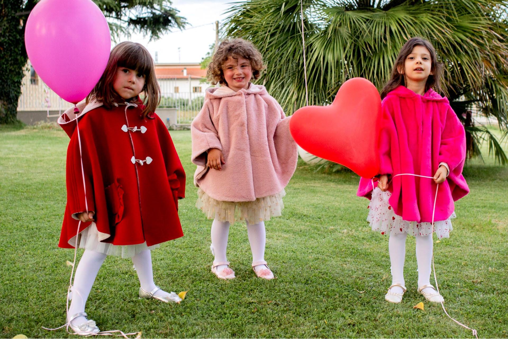 mantelline per bambine