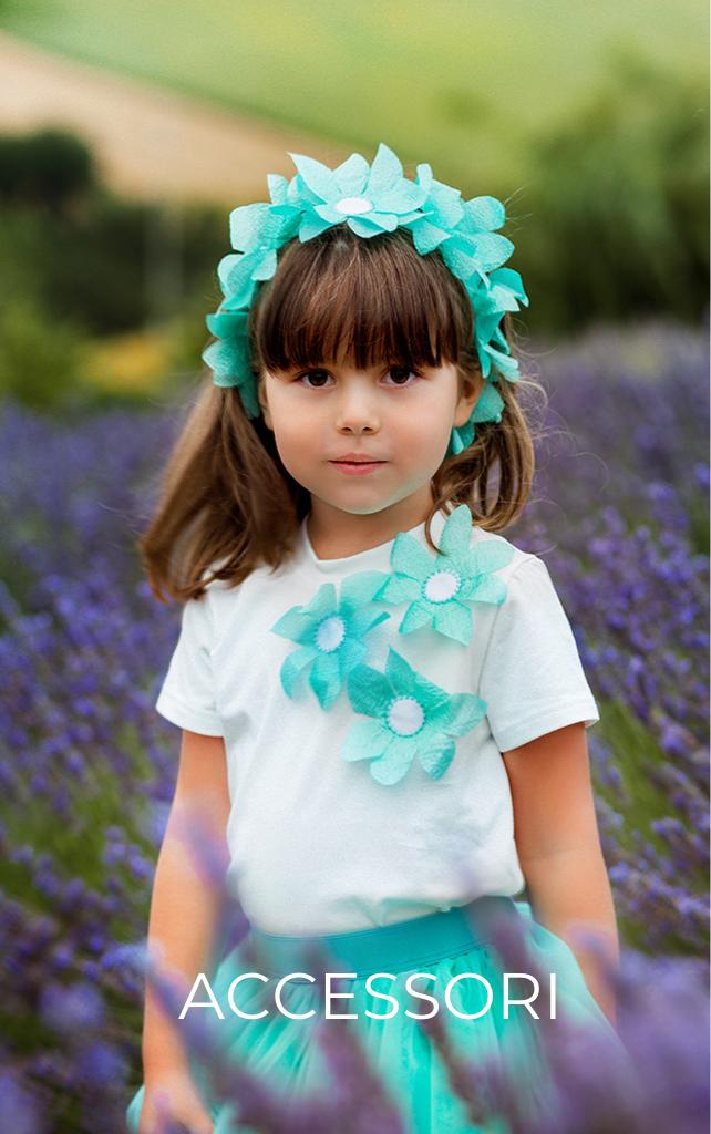 Accessori per abbigliamento bambine Giulia Mantelline