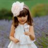 cerchio per capelli con rosa enorme da bambina
