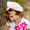 cerchietto rosa enorme da bambina e mamma