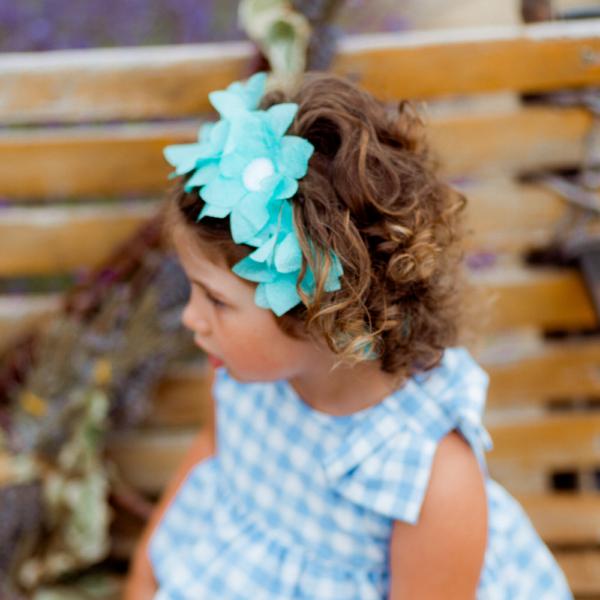 dettaglio corona di fiori tiffany