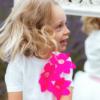 maglia alice fiori lampone in cotone da bambina