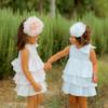 accessorio per capelli cerchio rosa da bambina