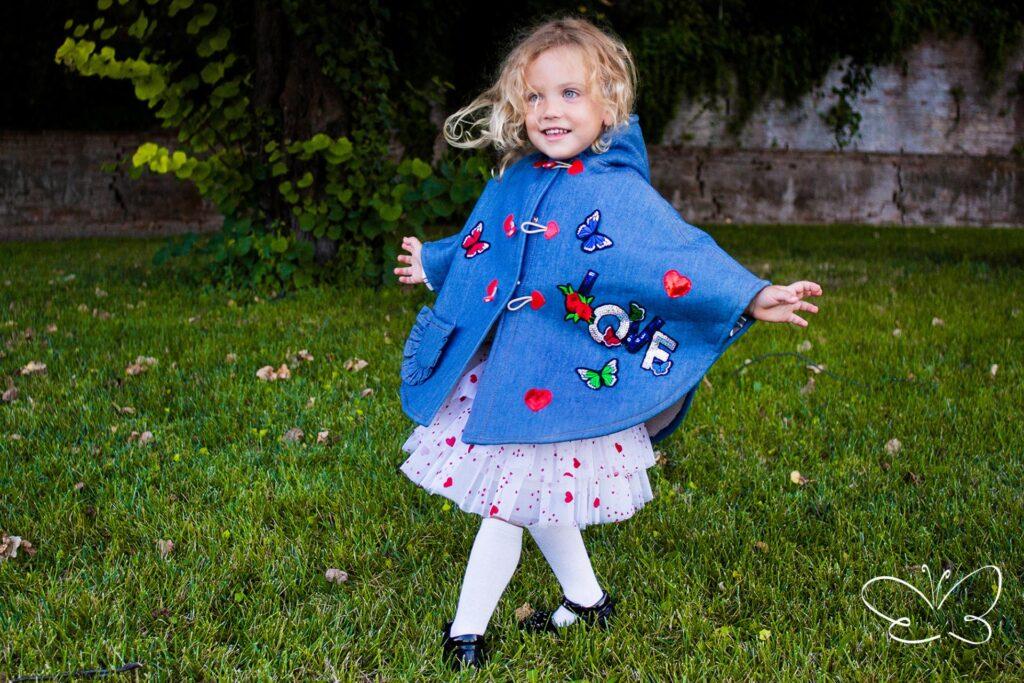 Abbigliamento bambina per giochi al parco