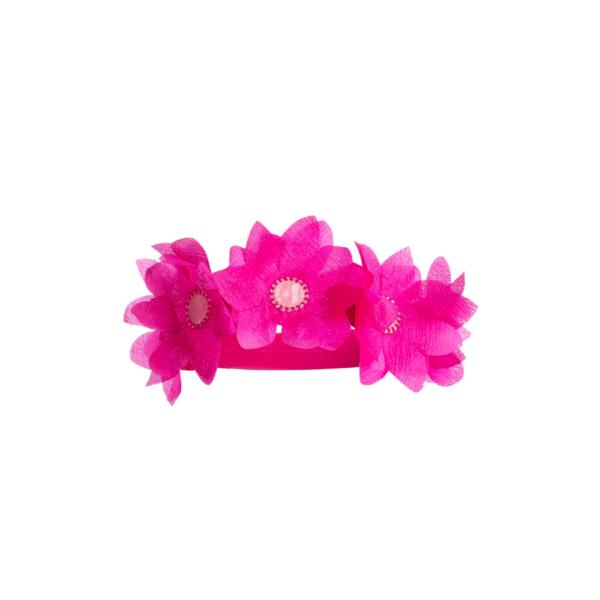 corona di fiori da principessa da bambina Giulia Mantelline