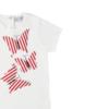 dettaglio farfalle maglietta da Bambina in cotone Giulia Mantelline