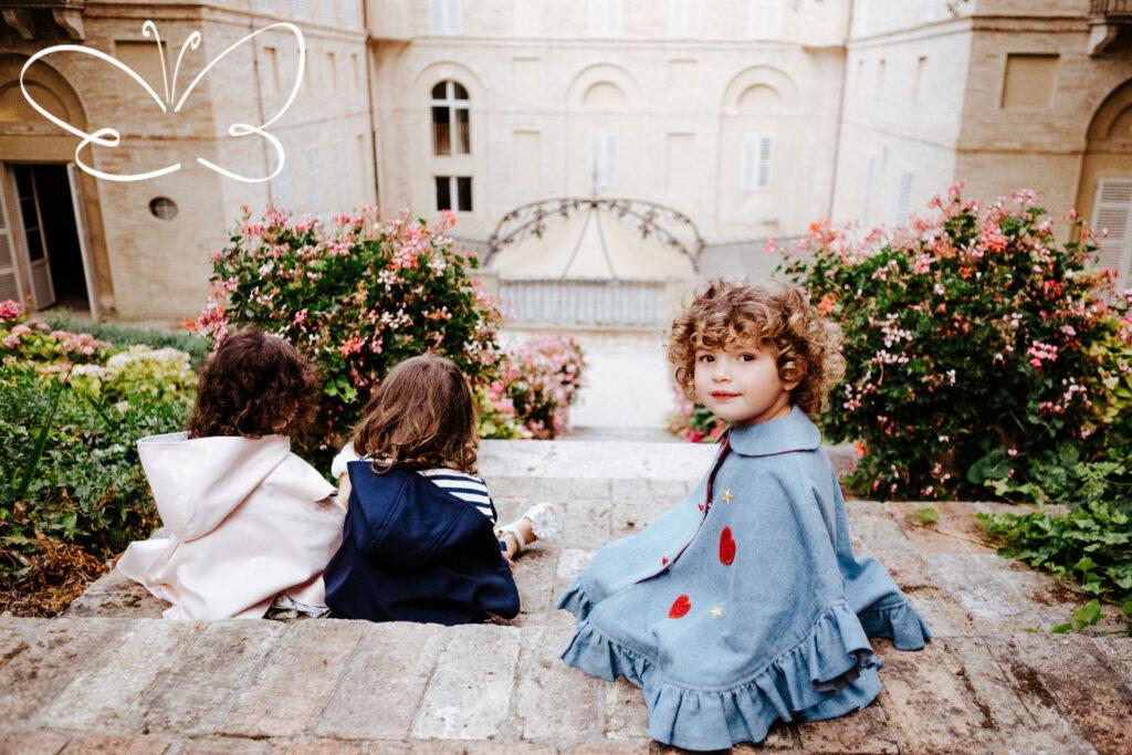 Mantelline bambine Giulia Mantelline