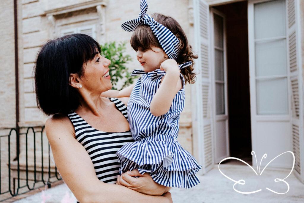 Mamma e figlia Giulia Mantelline