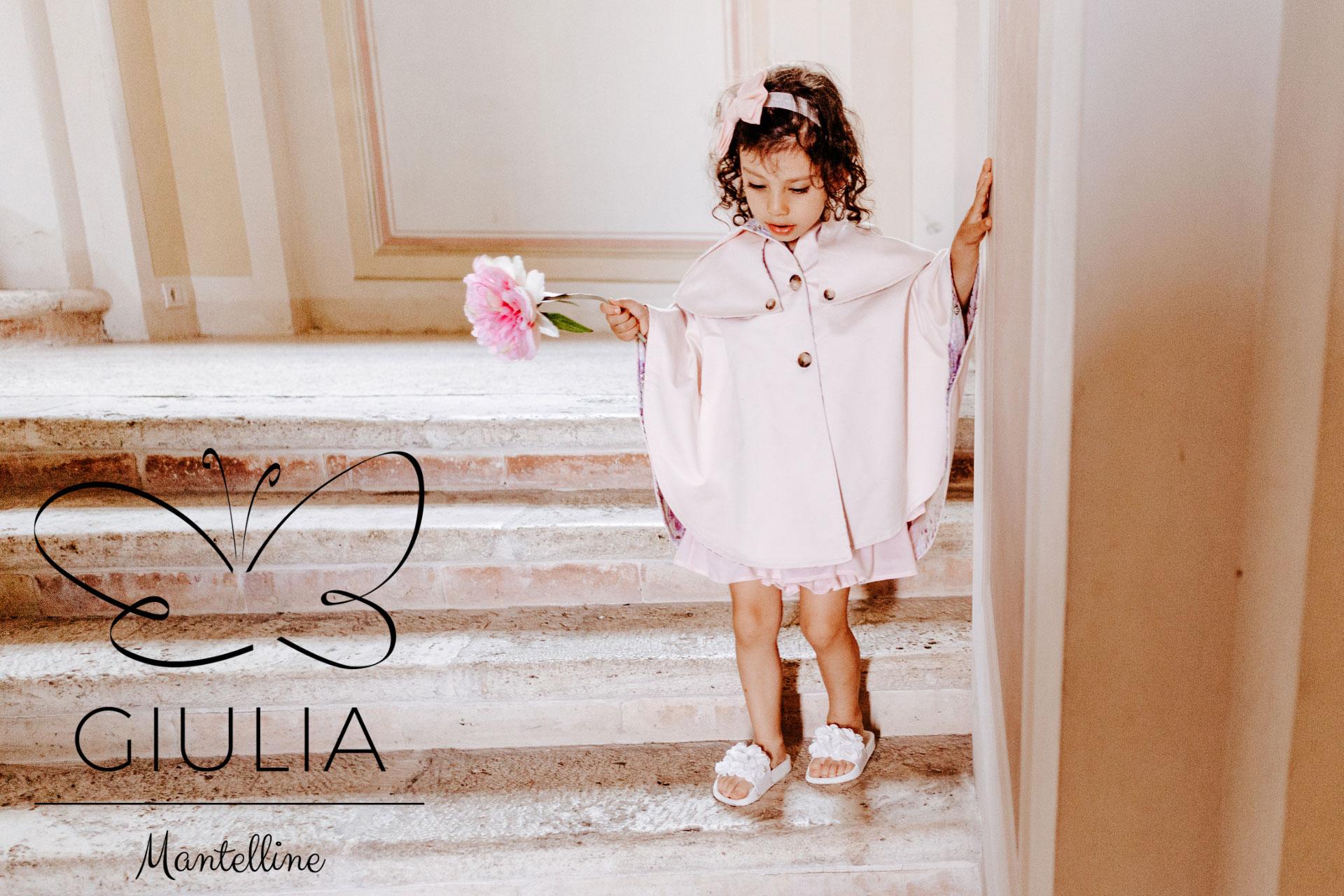 Mantellina da bimba Giulia Mantelline