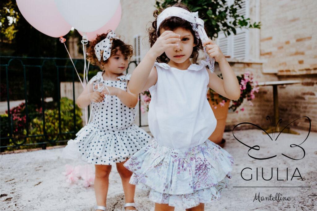 collezione PE21 Giulia Mantelline Abbigliamento bambina