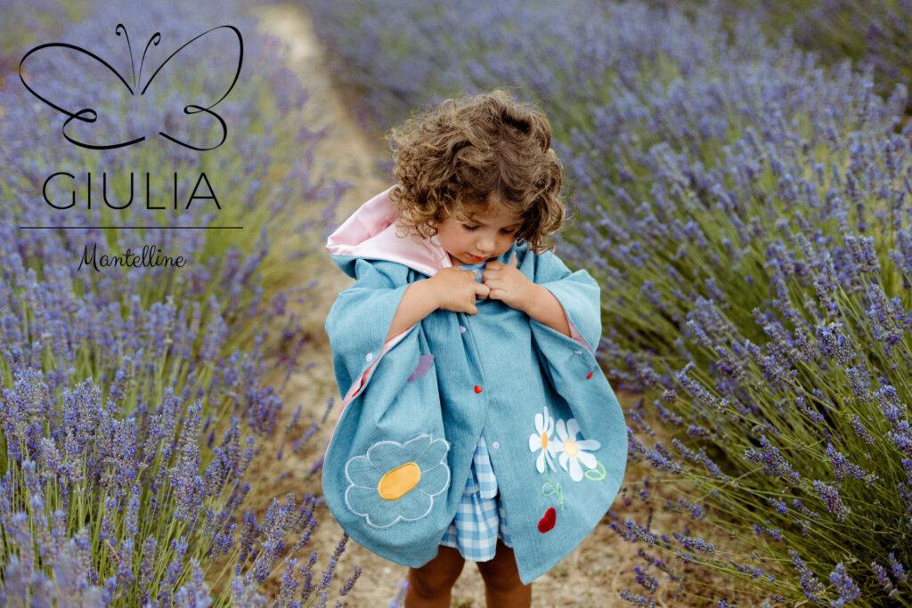 mantellina da bambina Giulia Mantelline