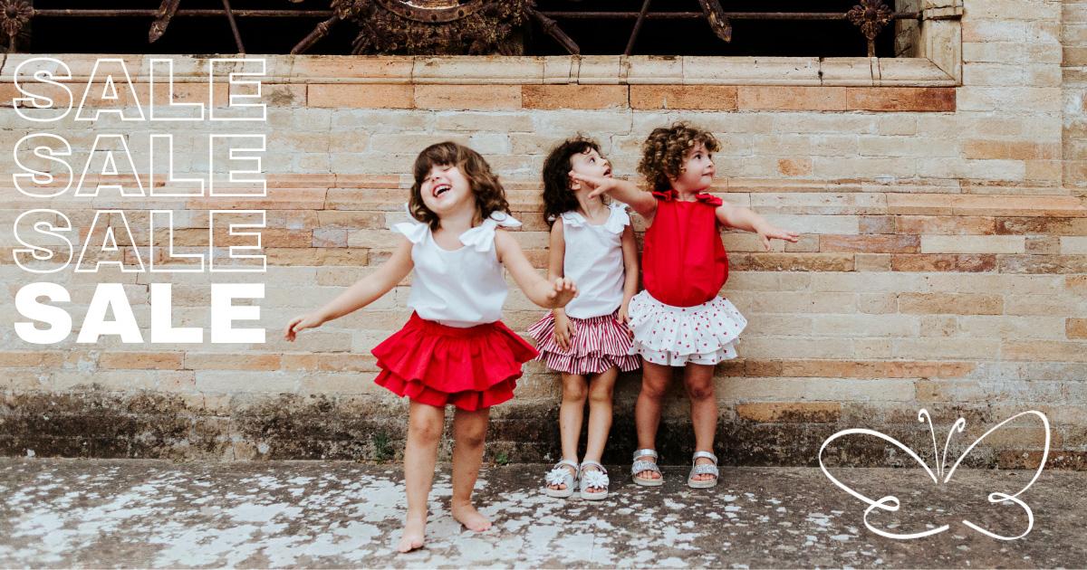 saldi abbigliamento bambina firmato Giulia Mantelline