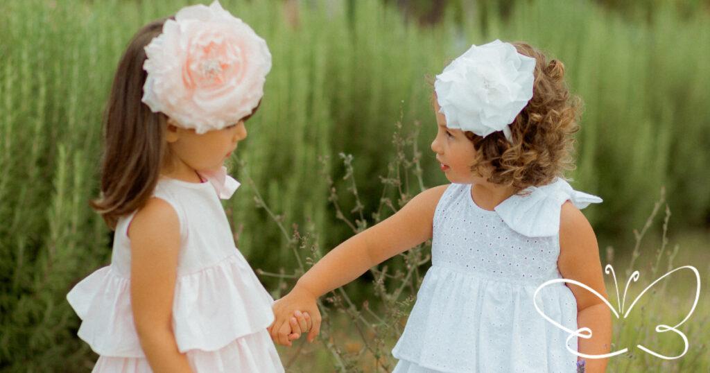 accessori abbigliamento bambine firmati Giulia Mantelline
