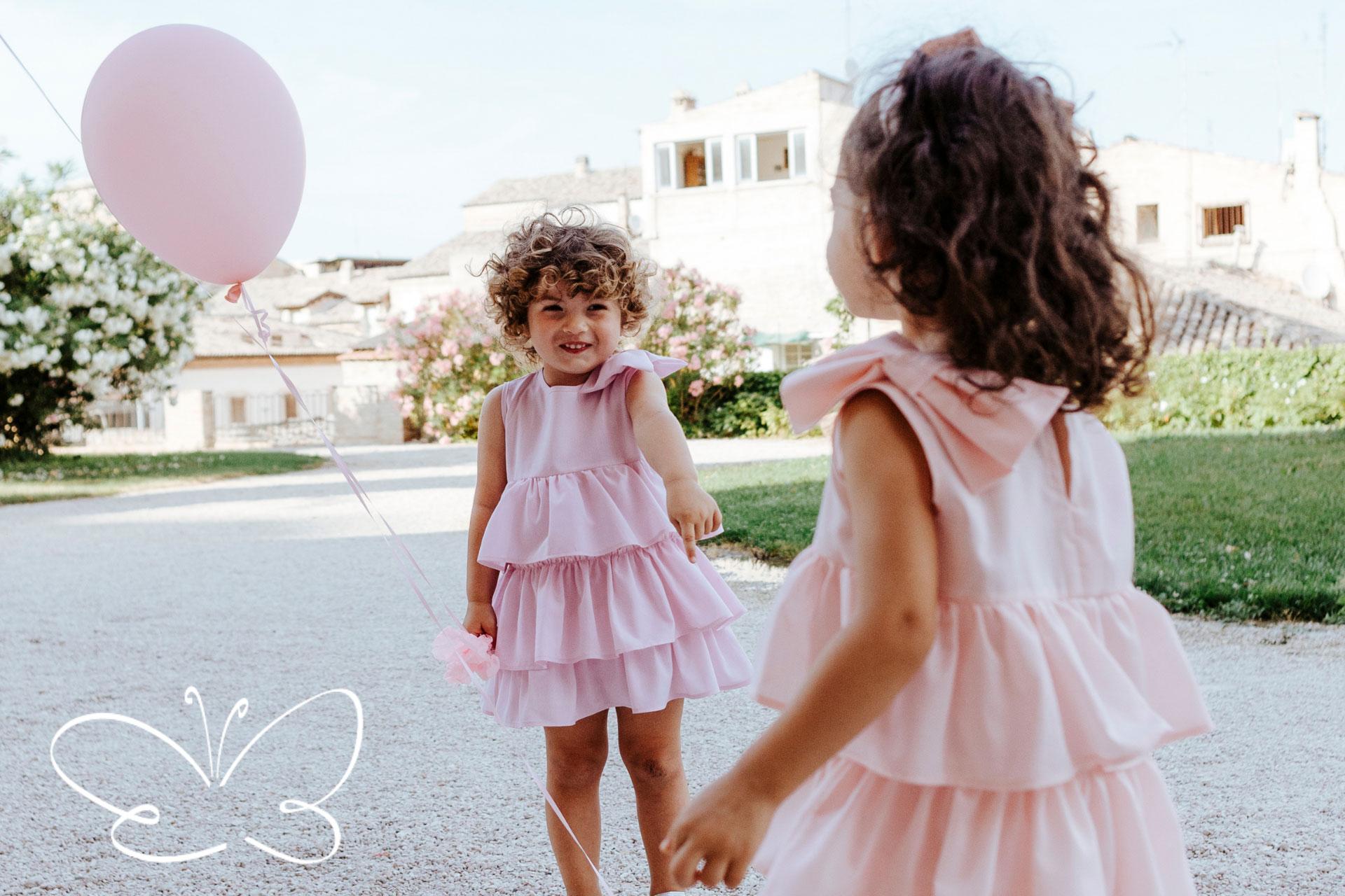 abbigliamento bambina di qualità italiana firmato Giulia Mantelline