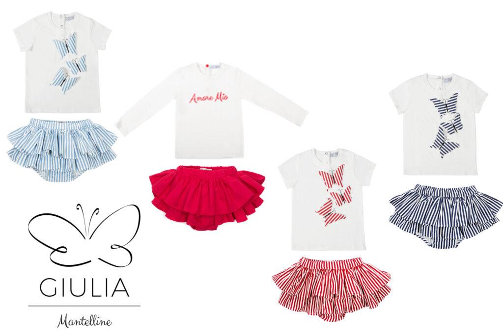 gonna Amelia bambina firmata Giulia Mantelline