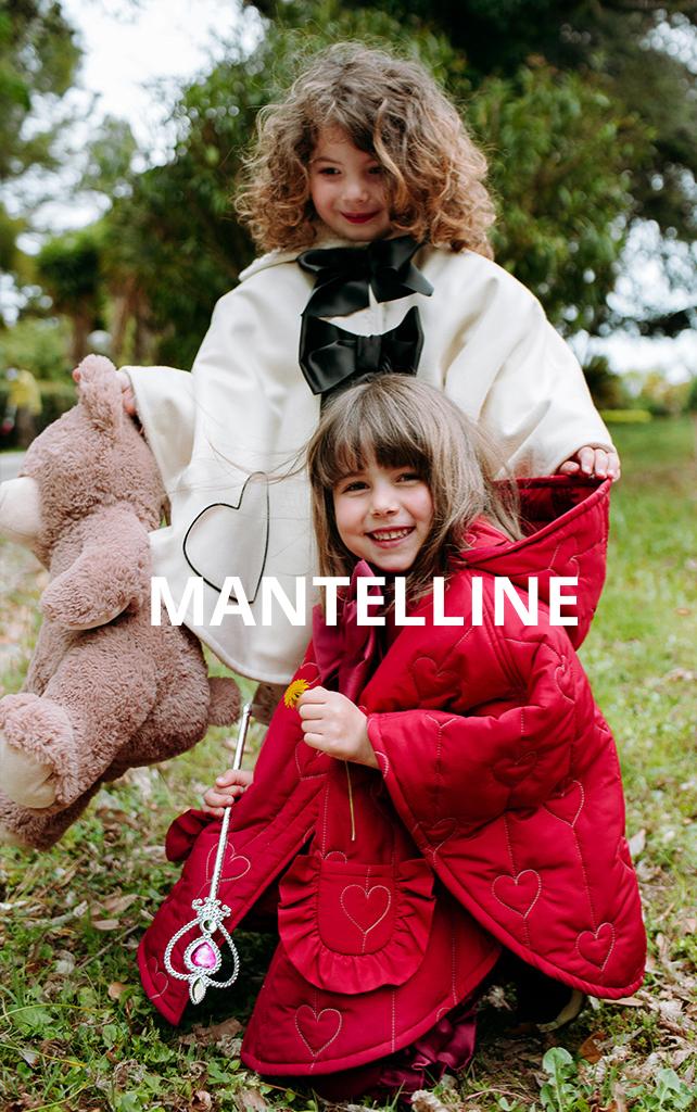 mantellina cappotto da bambina
