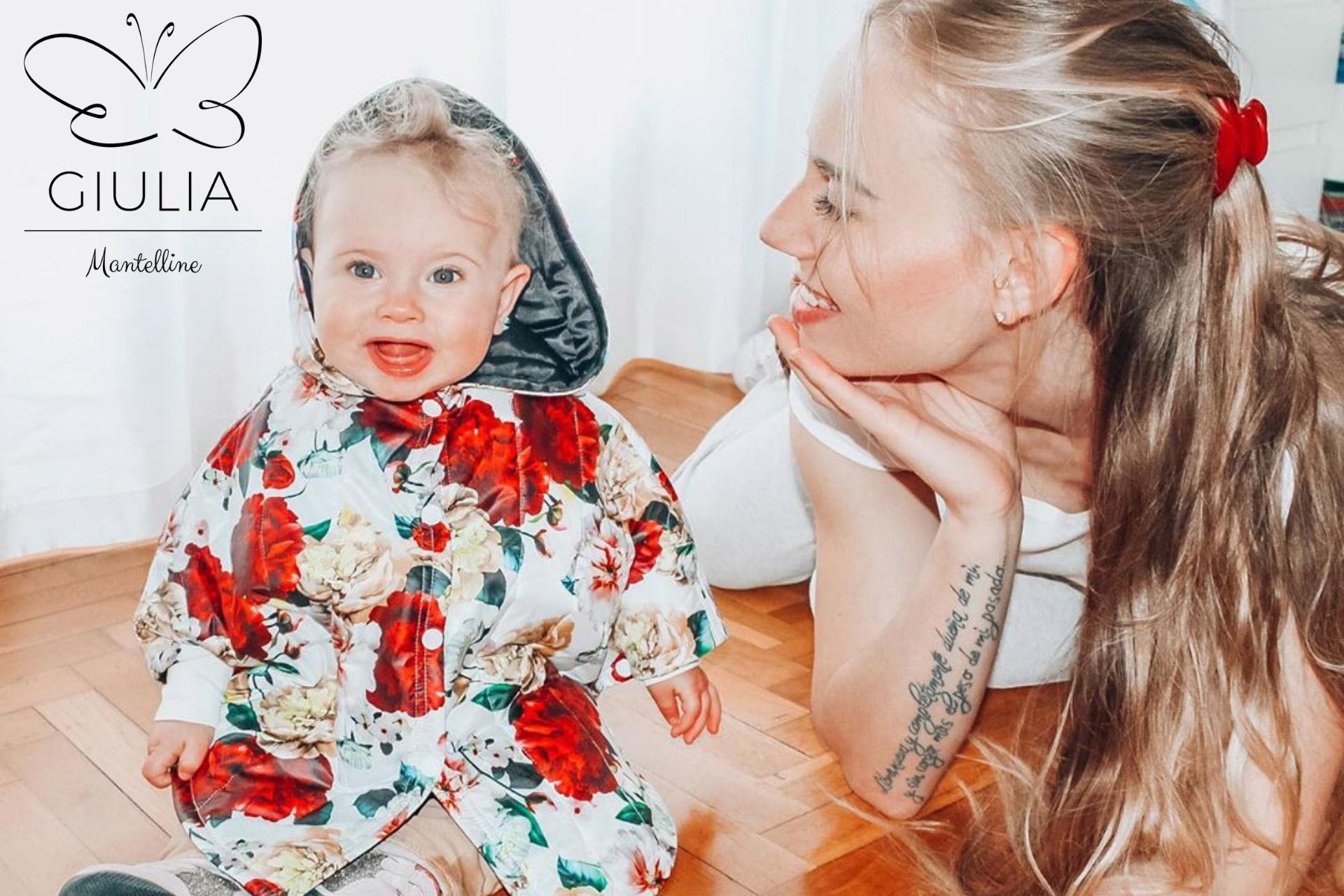 saldi abbigliamento bambina firmati Giulia Mantelline