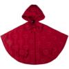 mantellina piumino Cappuccetto Rosso da bambina fino a 5 anni