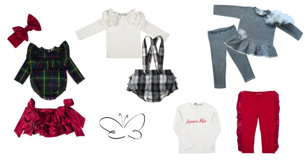 collezione autunno inverno abbigliamento bambine giulia mantelline